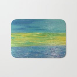 Sky, Land, Water Bath Mat