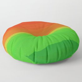 Candy Watermelon Abstract Floor Pillow
