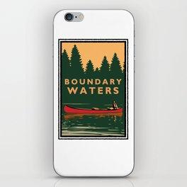 LANDMARK SERIES | MN BOUNDARY WATERS iPhone Skin