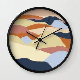 Desert Dunes 1 Wall Clock