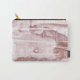 Rosy brown blurred watercolor pattern Carry-All Pouch