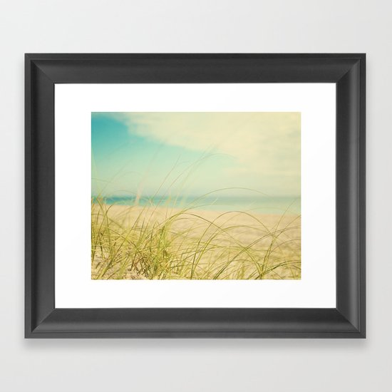coastal framed art print