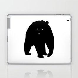 Bear Black Silhouette Pet Animal Cool Style Laptop & iPad Skin