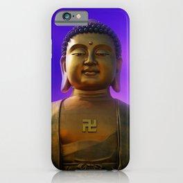 Buddha Blue Dawn iPhone Case