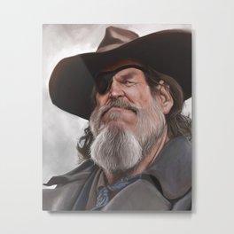 Jeff Bridges – True Grit Metal Print