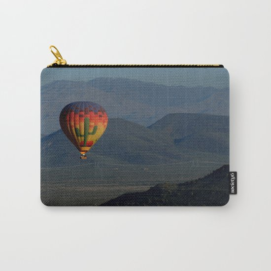 Hot Air Balloon over Arizona Morning Carry-All Pouch