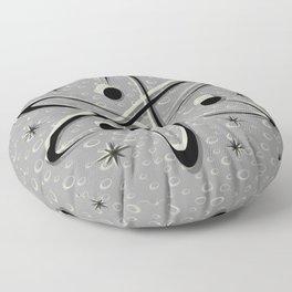 Atomic Love - Lunar Grey Floor Pillow