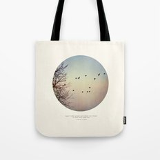 Caged Birds Tote Bag