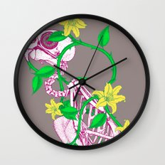 Deathvslife4 Wall Clock