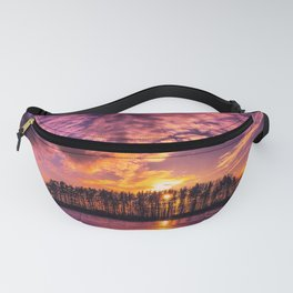 Cloudy Sunset Fanny Pack