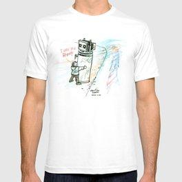 """I Wuv you Robot"" T-shirt"