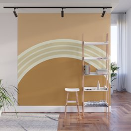 one day – earthen clay layers 2 Wall Mural