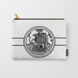 Ship stamp Carry-All Pouch