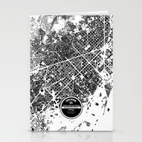 barcelona Stationery Cards featuring Barcelona by Maps Factory