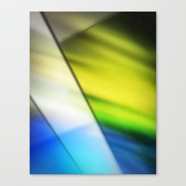 Soft Stained Glass Canvas Print