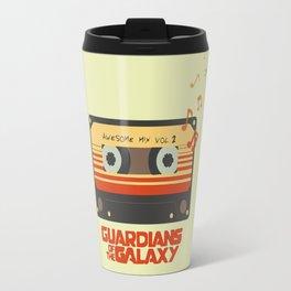 Music, Guardians of the Galaxy, Movie Travel Mug