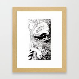 Tarot - The World Framed Art Print