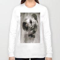 jake Long Sleeve T-shirts featuring Jake by Julia Blanchette