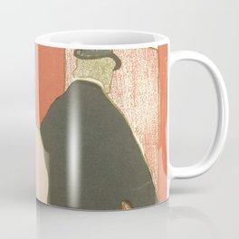 """Henri de Toulouse-Lautrec """"Theatre programme for L'argent by Emile Fabre"""" Coffee Mug"""