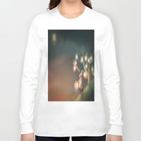 lanterns Long Sleeve T-shirts featuring Lanterns by Claire Westwood illustration