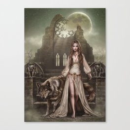 Belong to the night Canvas Print
