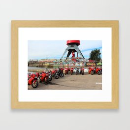 NDSM D-Day Lineup Framed Art Print