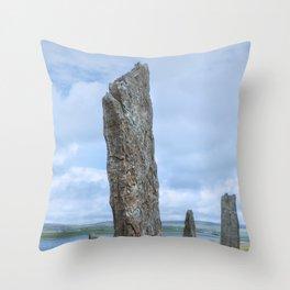 Ring of Brodgar Throw Pillow