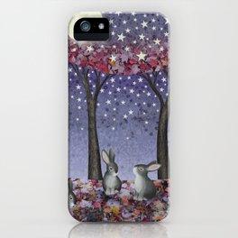 starlit bunnies iPhone Case