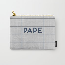 PAPE | Subway Station Carry-All Pouch