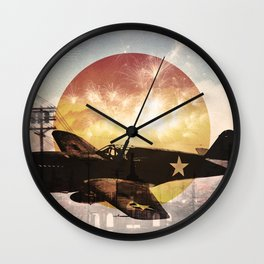 Warhawk Wall Clock