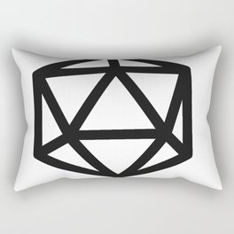 RPG magic dice Rectangular Pillow