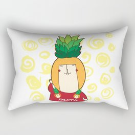 If you were a fruit... you'd be one fineapple! Rectangular Pillow