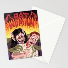 Bat Woman Stationery Cards