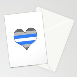 Demiboy Heart Stationery Cards