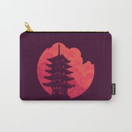Pagoda Sunset Carry-All Pouch
