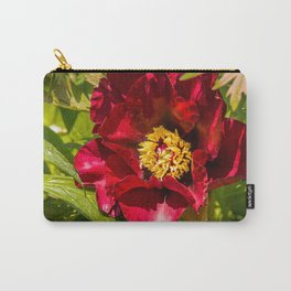 Peony (Paeonia) Carry-All Pouch