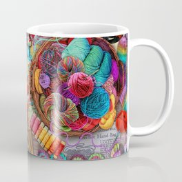 Vintage Yarn & Thread Coffee Mug