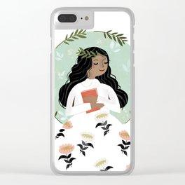 A Love of Books Clear iPhone Case
