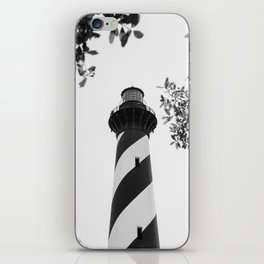 Cape Hatteras Black and White iPhone Skin