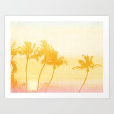 Your Secret Beach in Paradise Art Print