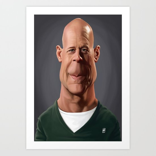 Celebrity Sunday - Bruce Willis Art Print