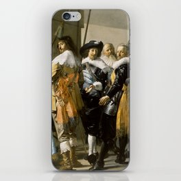 "Franz Hals ""Militia Company of District XI also known as 'The Meagre Company'"" iPhone Skin"