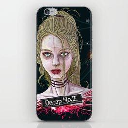 Decap_No.2 iPhone Skin