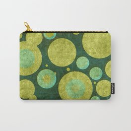 """""""Retro Party Glitter Dots"""" Carry-All Pouch"""