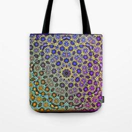 Nine patterned star  Tote Bag
