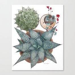 Jane's Garden Canvas Print