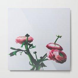 Floral Buds and Blooms Metal Print