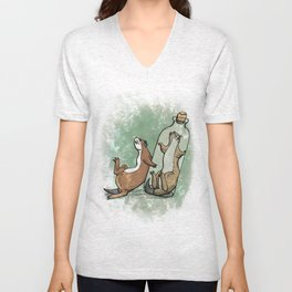 Bottled Stoat Unisex V-Neck