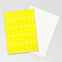 Banana mood grid Stationery Cards