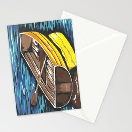 Boat Reflections Stationery Cards